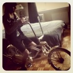 Vassil&#039;s new wheels. July 2012. Photo by: Stephanie Zuniga