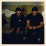 Dany and Cody - After show beers - Moncton NB - TV TOUR November 2012