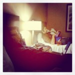 D and L - Hotel Room - Sydney NS - TV TOUR November 2012