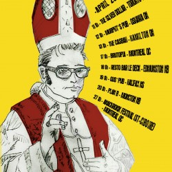 Popefully yours tour poster